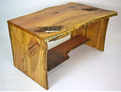 organic oak desk - today's daily deal