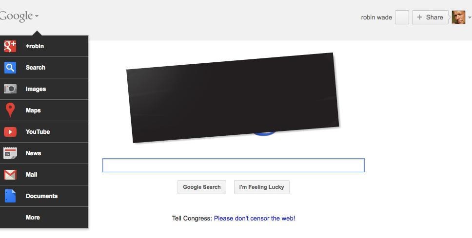 Google doodle's a message
