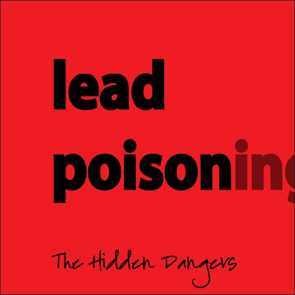 lead poisoning - the hidden dangers