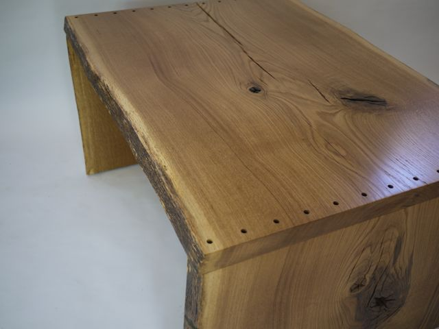 natural oak desk