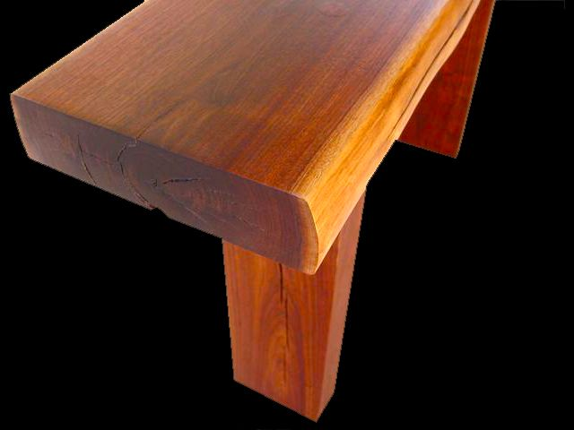 thick contemporary table