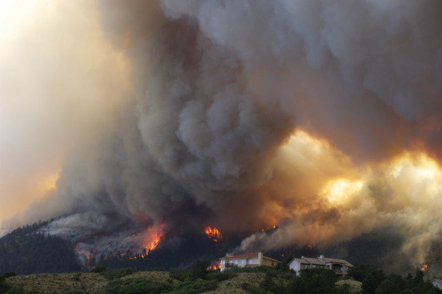 Colorado Wildfires - photo credit: http://blognewsonline.net/?p=1437
