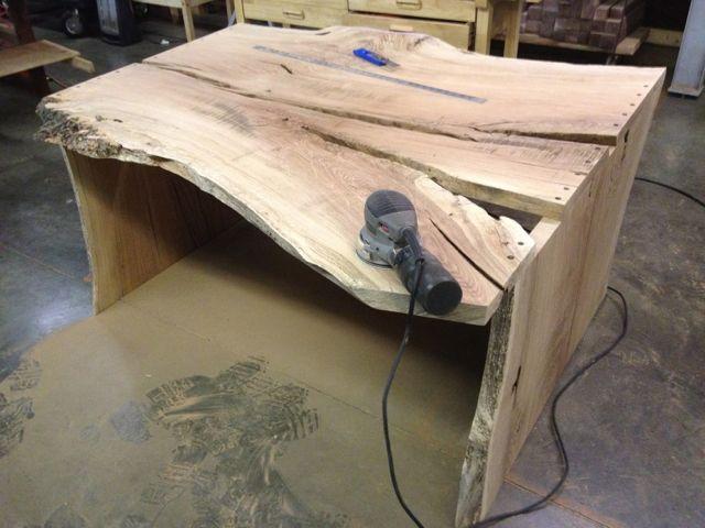 Custom Desk - in process