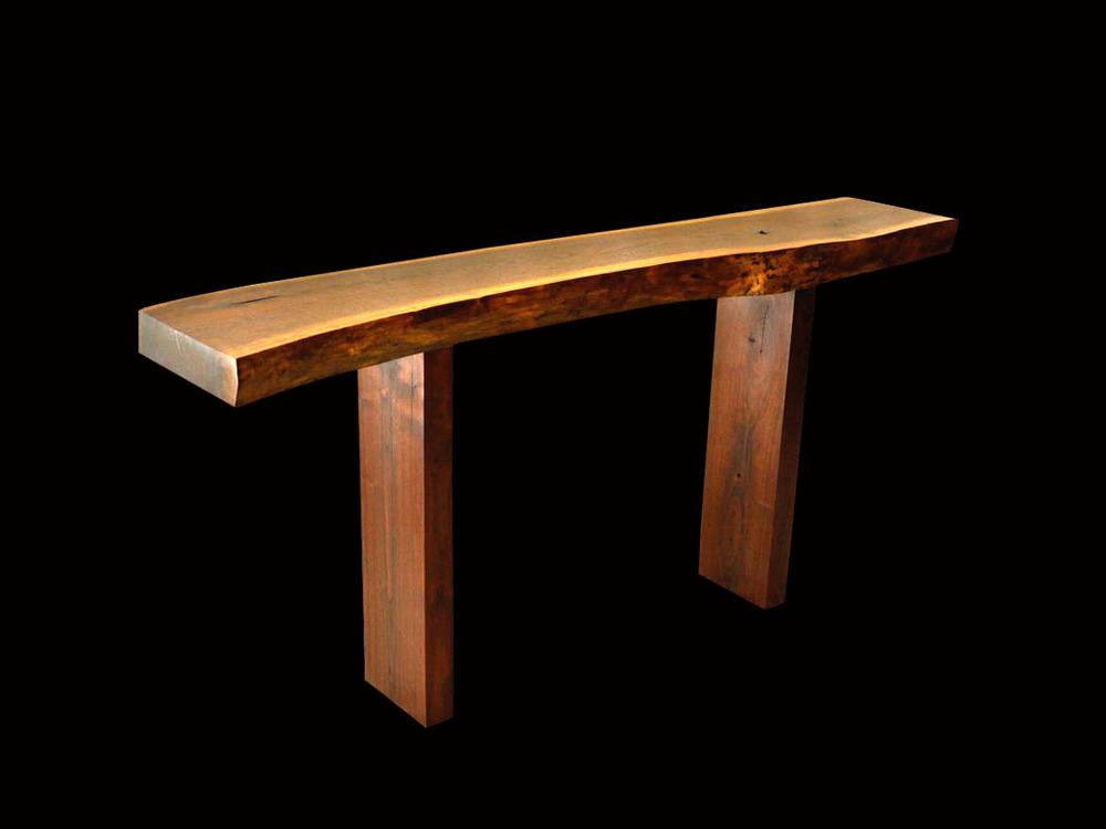 Hardwood Entry Table