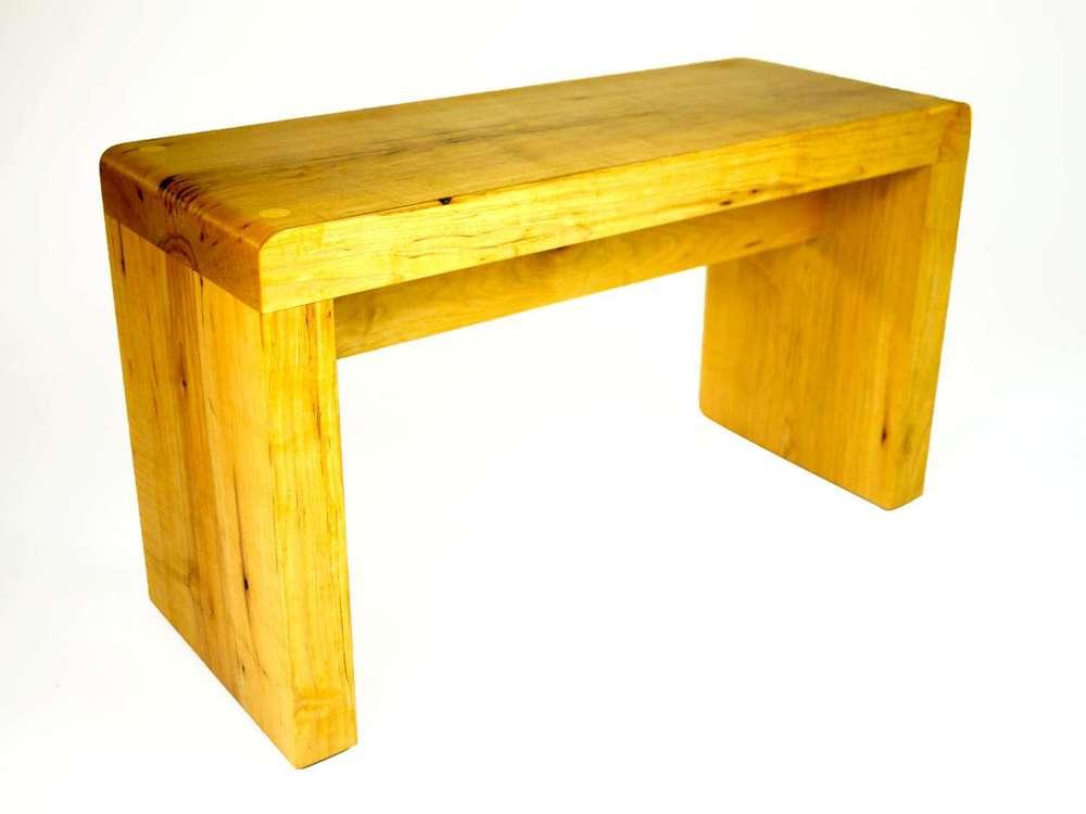 Small Modern Maple Bench