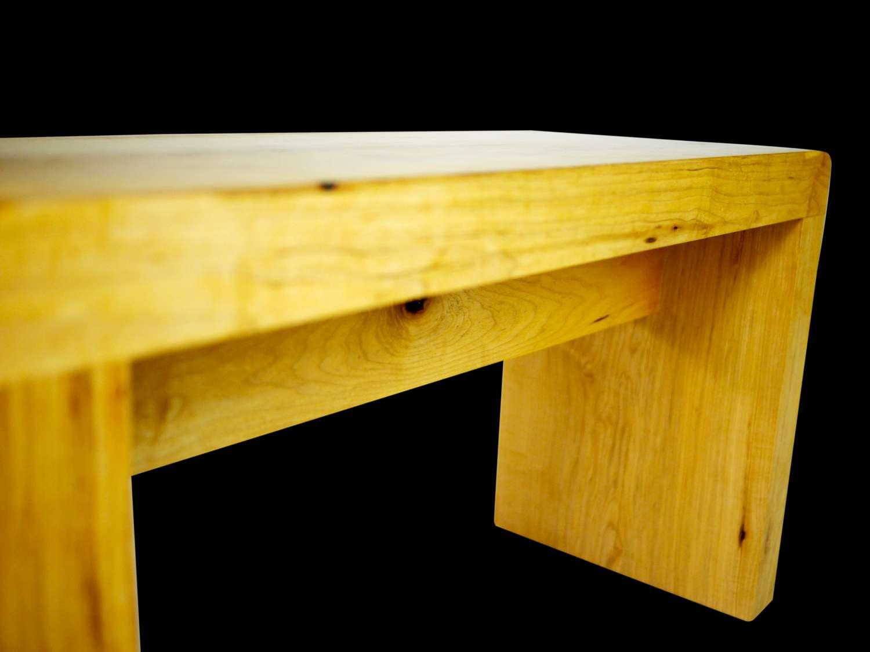Small modern maple bench robin wade furniture small modern maple bench sciox Image collections