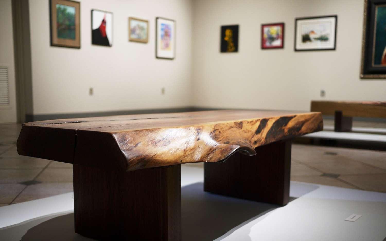 Gerald walnut coffee table robin wade furniture gerald walnut coffee table geotapseo Gallery