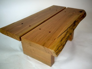 Small Natural Edge Cherry Table