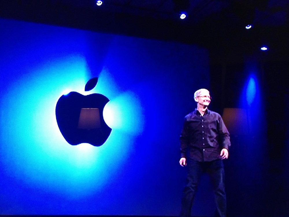 Alabama's own Tim Cook @ Apple WWDC 2013 Keynote.