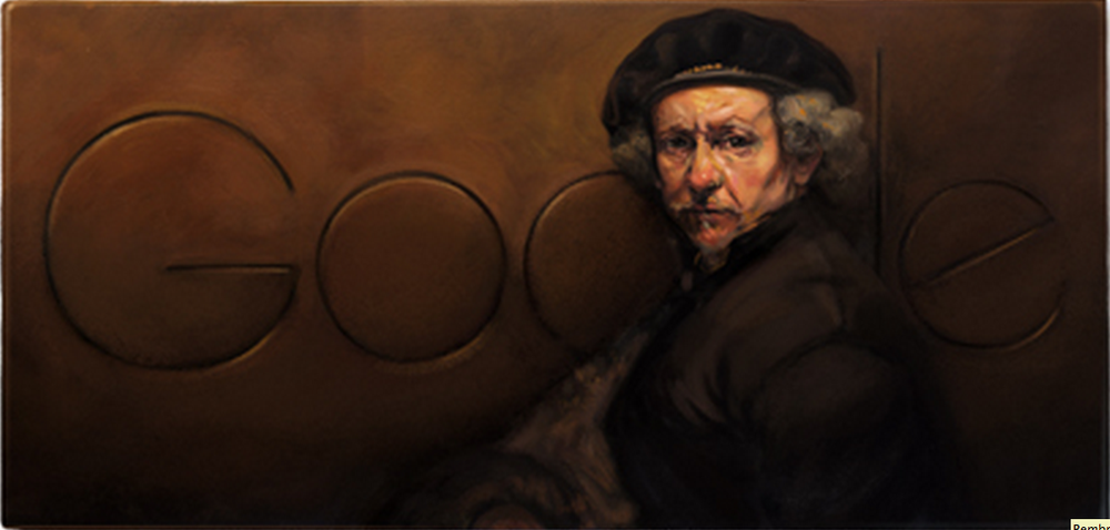 Let's celebrate Rembrandt's 407th birthday.