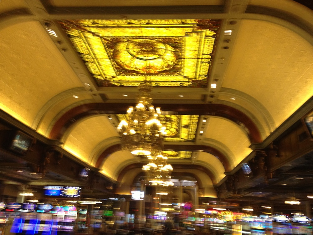 Main Street Casino Stained Glass Ceiling