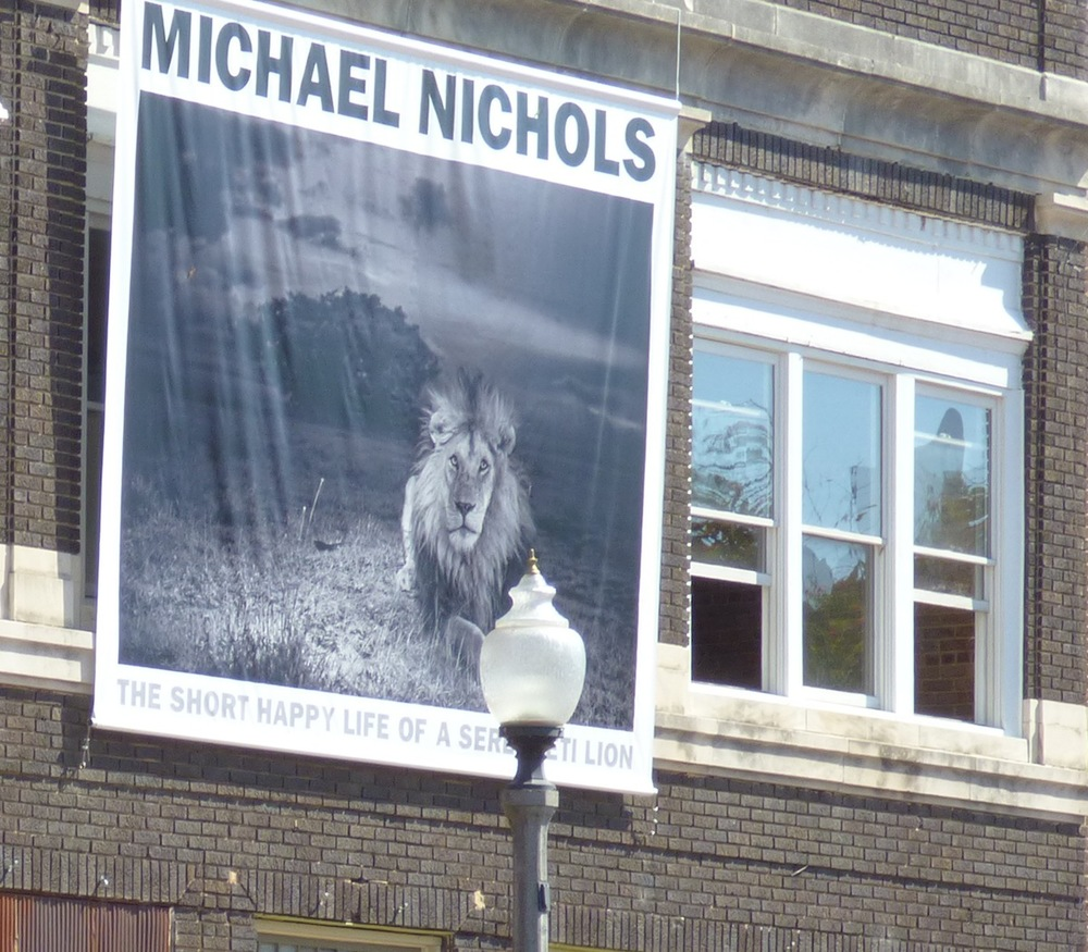 Mike Nichols hometown visit and showing this week.