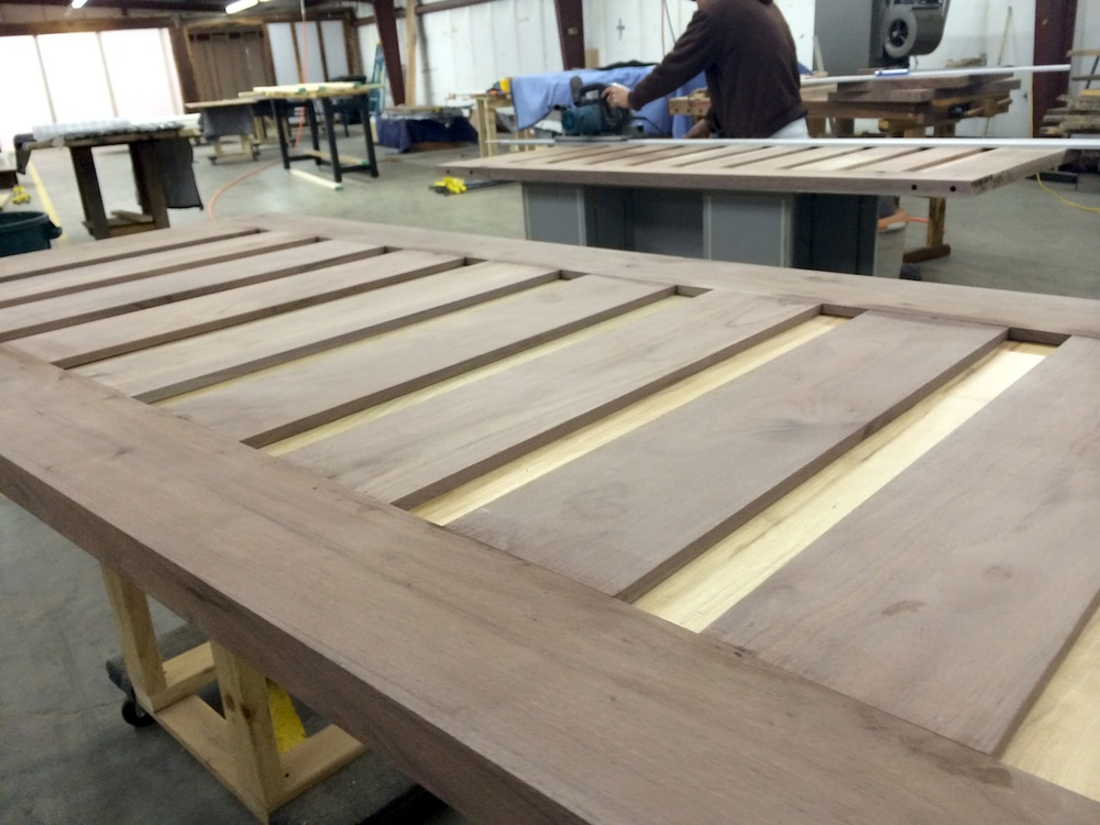 solid doors made from 4 local hardwood trees