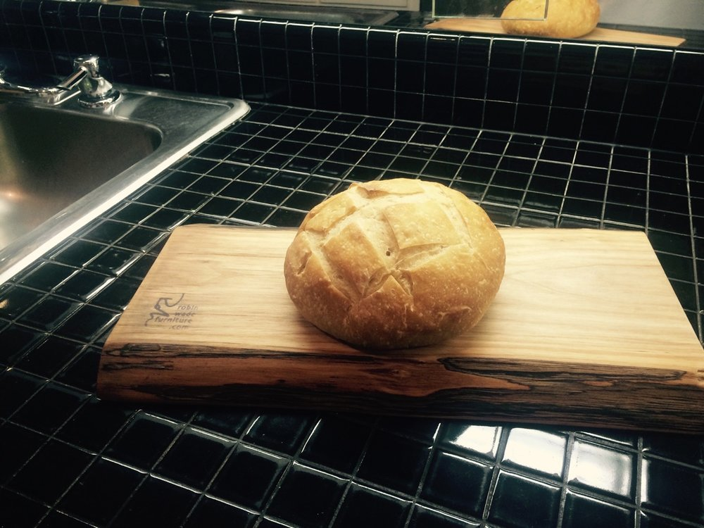 serving boards bread