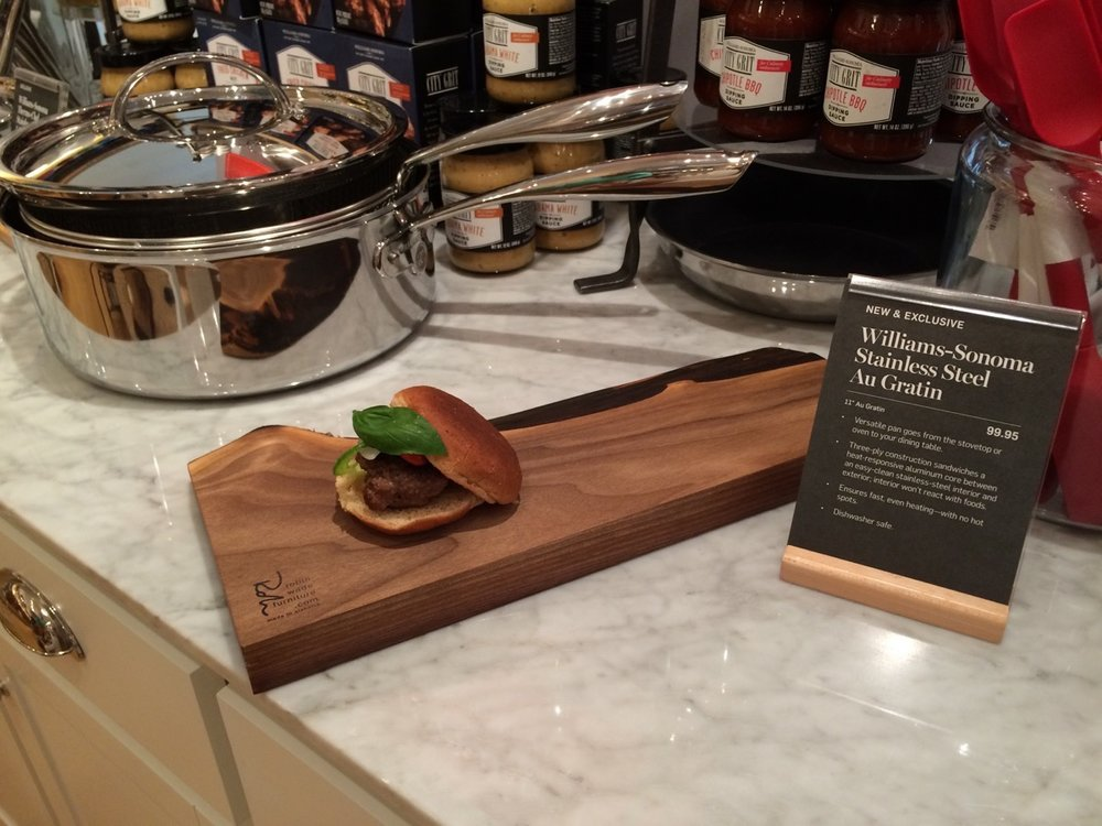 Williams Sonoma serving boards