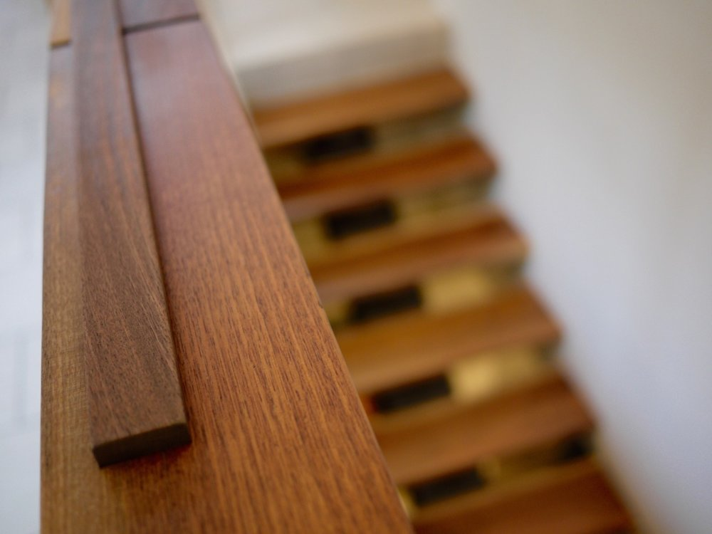 Barnett bannister and stair treads