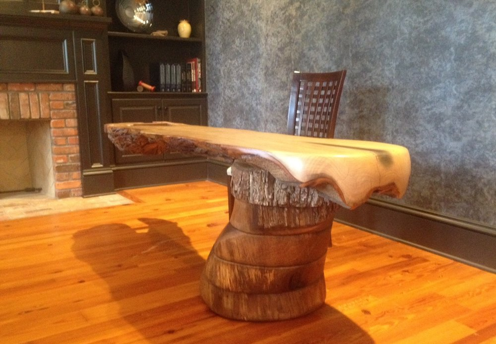Custom Crafted Cantilever Furniture