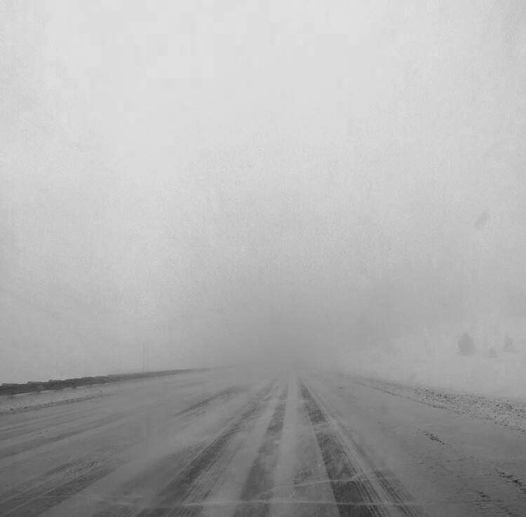 We were faced with whiteout conditions as the blizzard worsened. This was shot by Alex around Vail as we desperately tried to make it out of The Rockies.