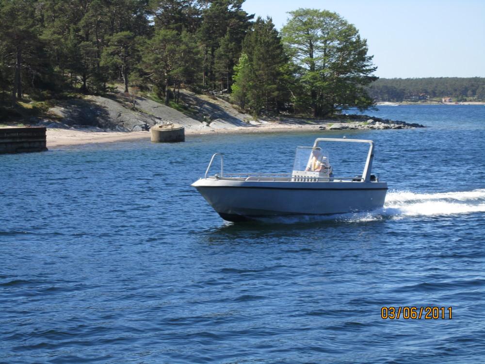 KJV:s passbåt på Korsö