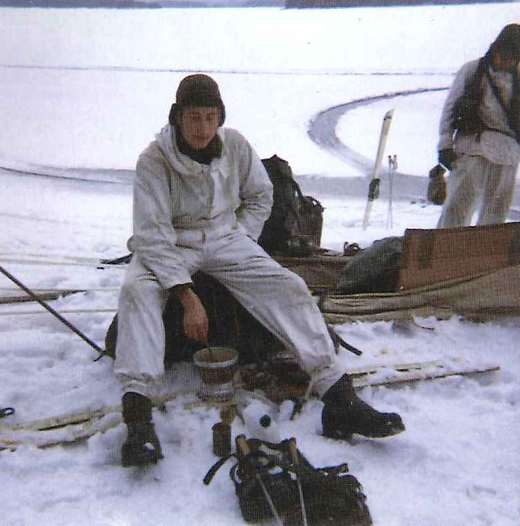Isveckan på Gälnan. Foto: Peter Gröndahl