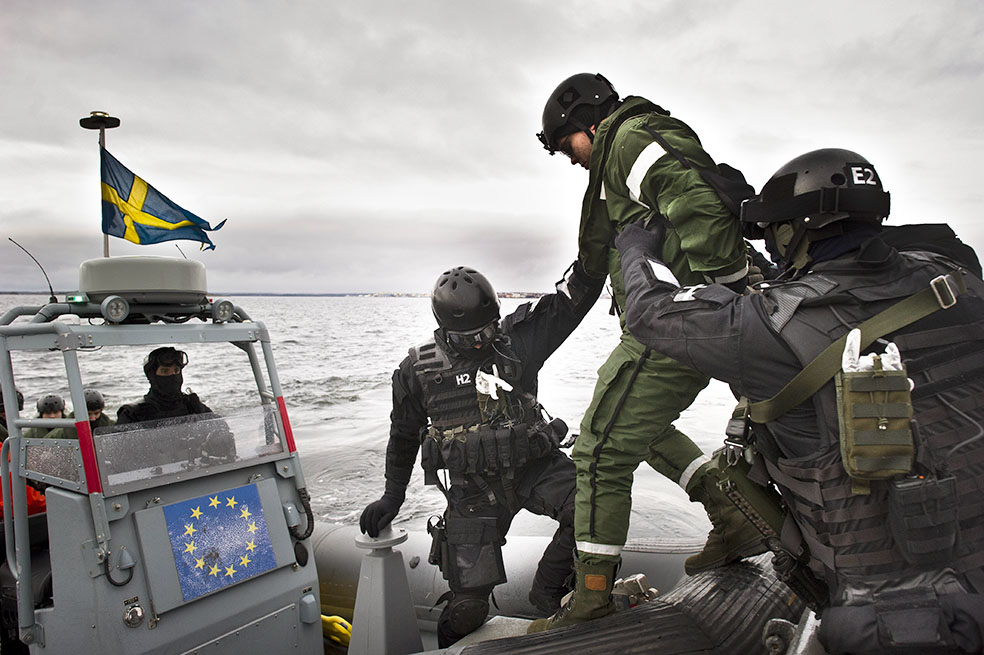 Foto: Niklas Ehlén. Försvarsmakten.