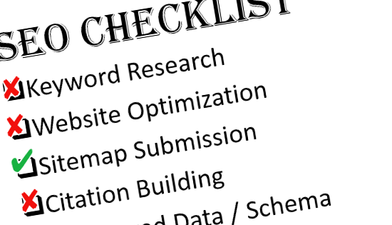 Website SEO Checklist