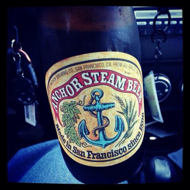Anchor Steam Beer vía @alexnationpr en Instagram