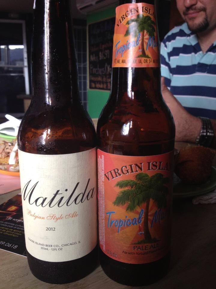 Matilda y Tropical Mango Pale Ale vía @Shai_lrr en Twitter