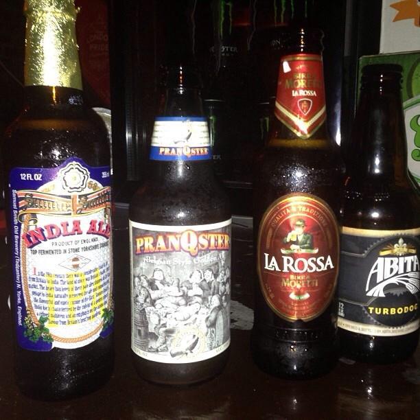 Beer heaven via @alymarierobles en Instagram