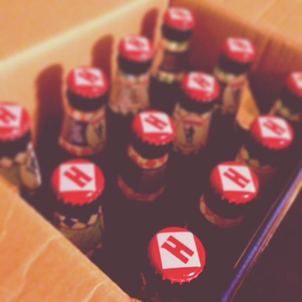 Harpoon box of IPA vía @jdiaz79 en Instagram