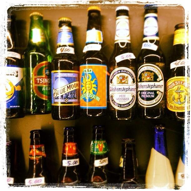 Selección de cervezas vía @rosalyrodriguez en Instagram