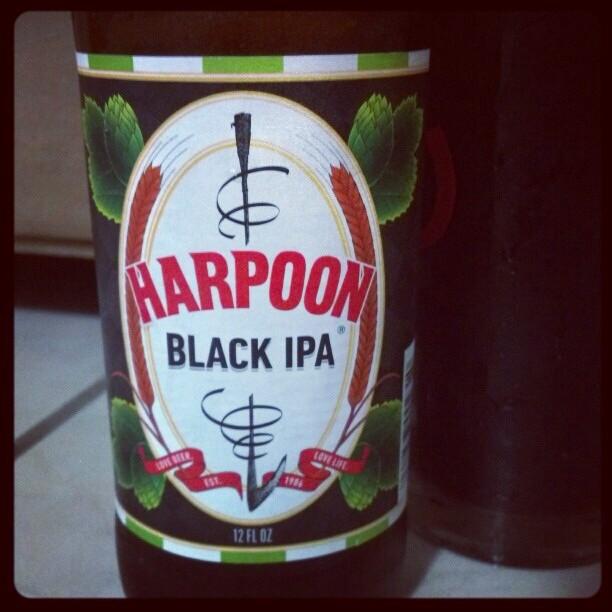Harpoon Black IPA vía @adejesus80 en Instagram