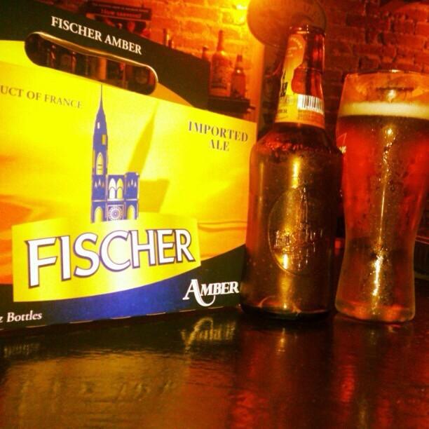 Fischer Amber Ale vía @rdres en Instagram