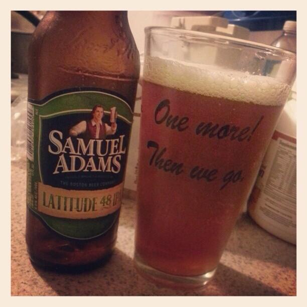Samuel Adams Latittude 48 vía @alexnationpr vía Instagram