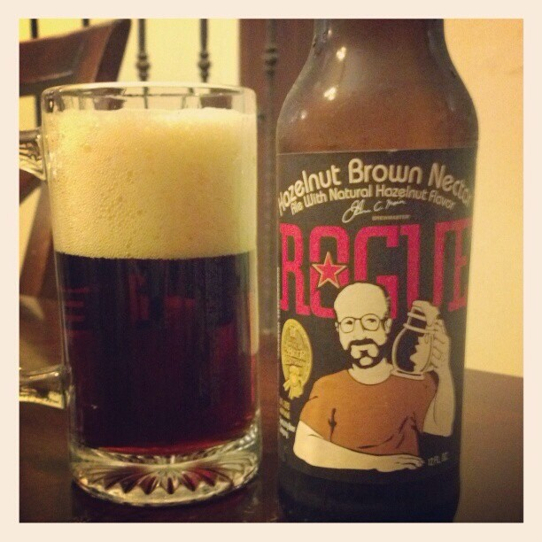 Rogue Hazelnut Brown vía @adejesus80 en Instagram
