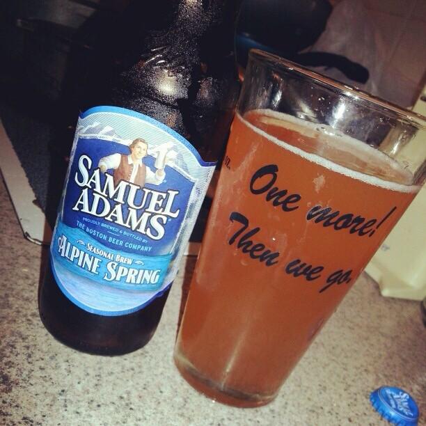 Samuel Adams Alpine Spring vía @alexnationpr en Instagram