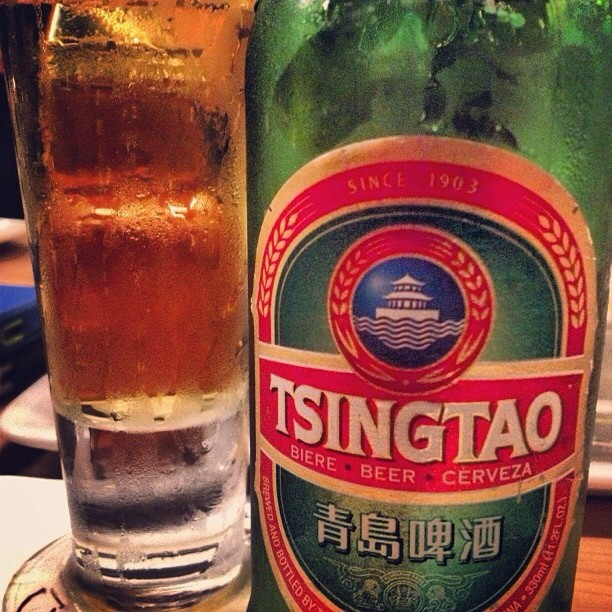 Tsingtao vía @nataliaperez8 en Instagram