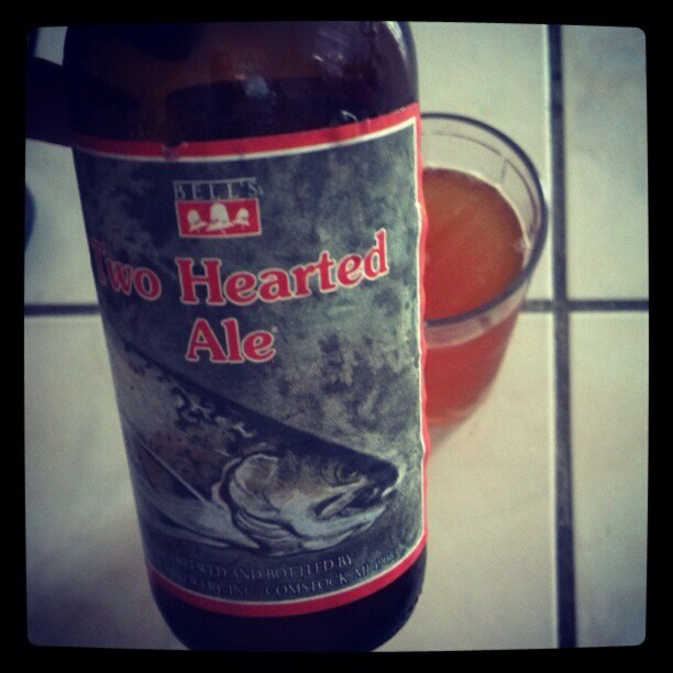 Two Hearted Ale vía @adejesus80 en Instagram