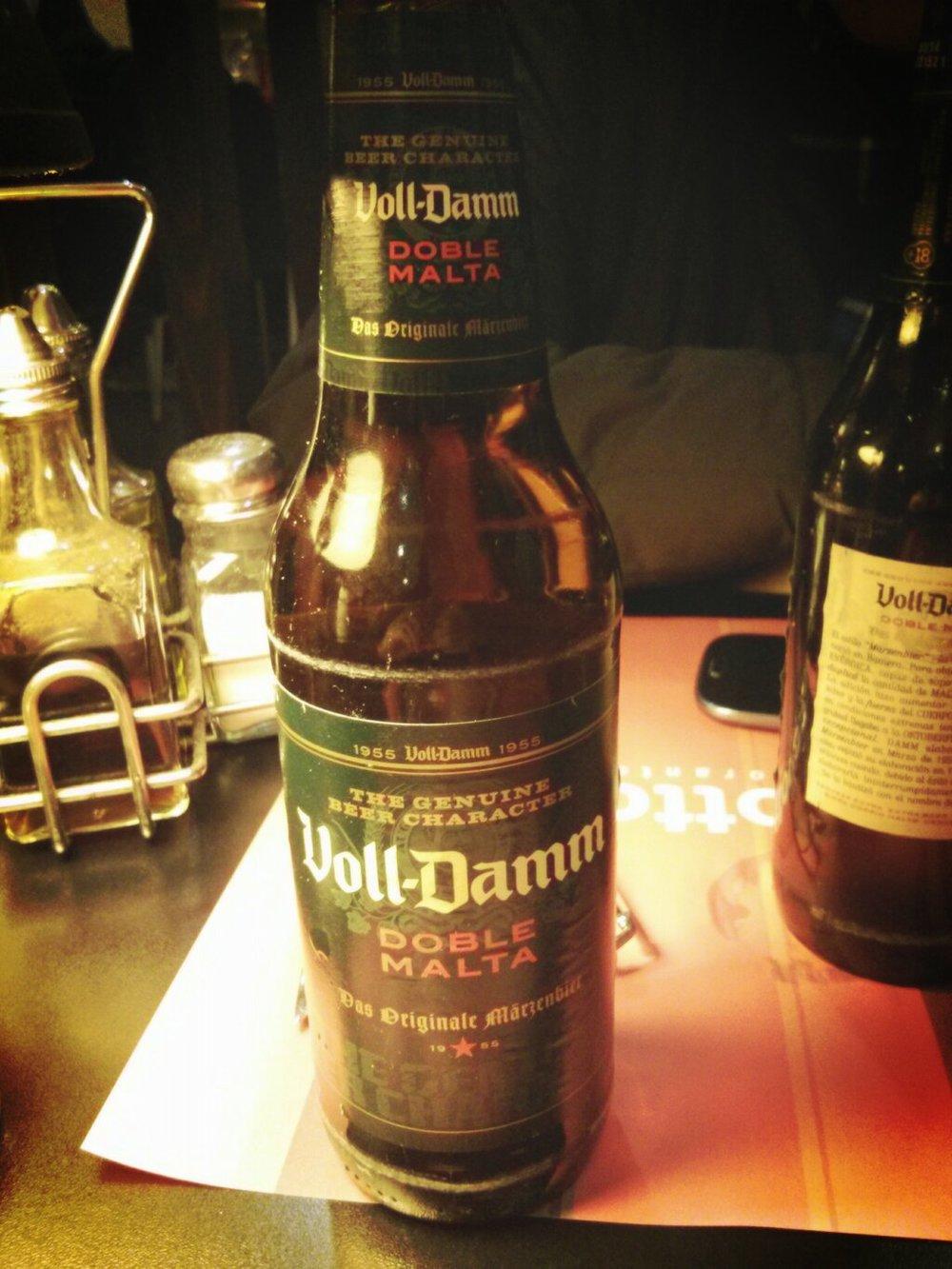 Voll-Damm Doble Malta vía @Robflorivera en Twitter