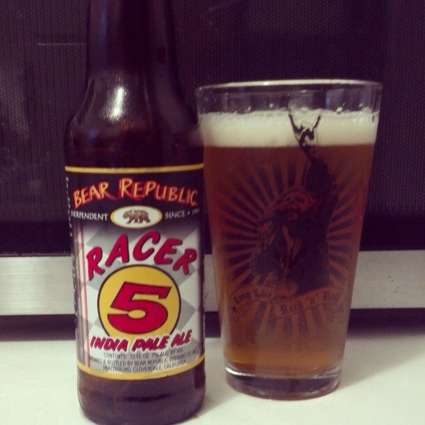 Racer Indian Pale Ale vía @adejesus80 en Instagram