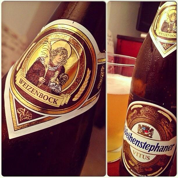 Weihenstephaner Vitus vía @nataliaperez8 en Instagram