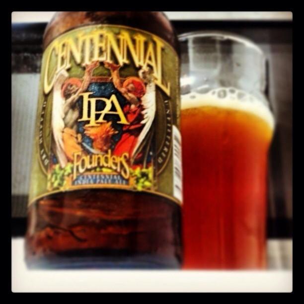 Founders Centennial IPA vía @adejesus80 en Instagram