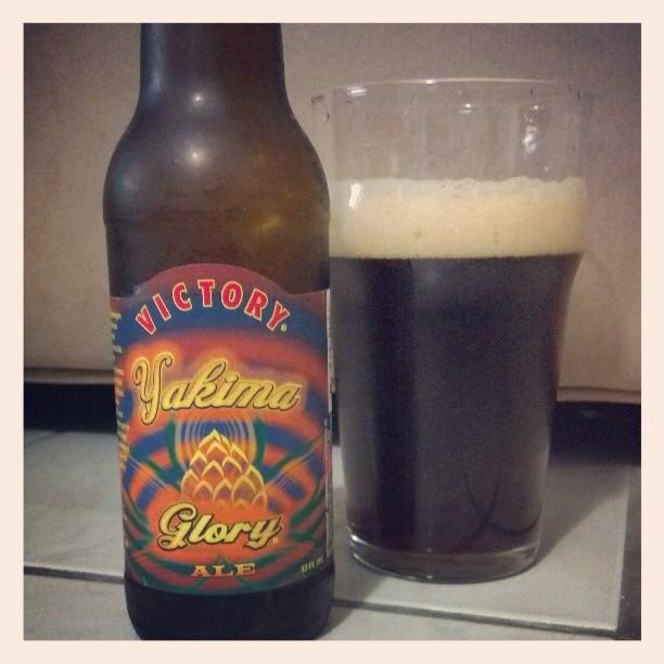 Victory Yakima Glory Ale vía @adejesus80 en Instagram