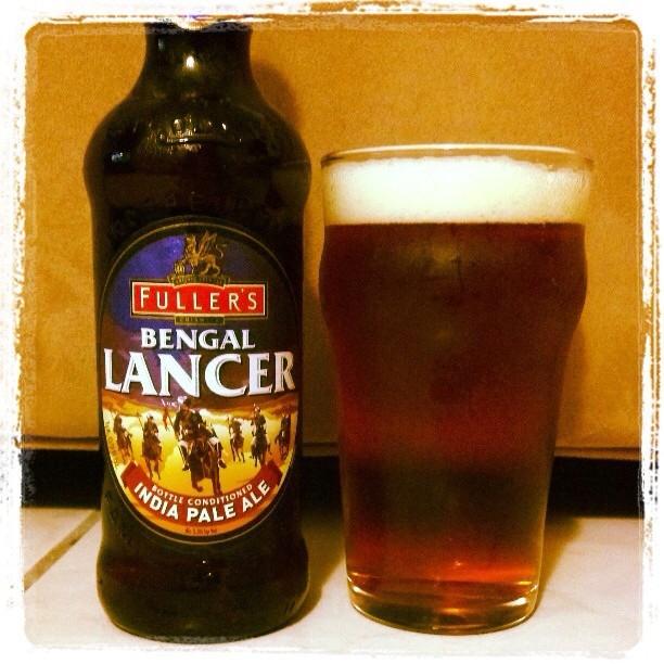 Bengal Lancer IPA de Fuller's vía @adejesus80 en Instagram