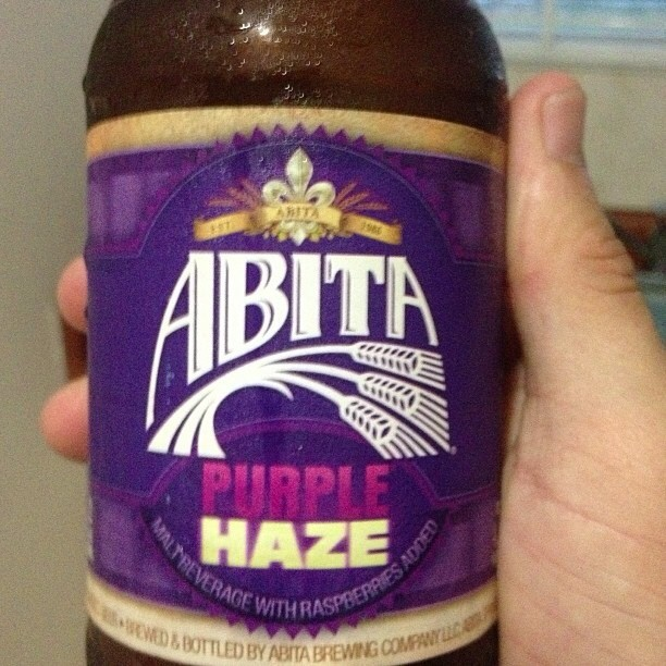 Abita Purple Haze vía @ramon920 en Instagram