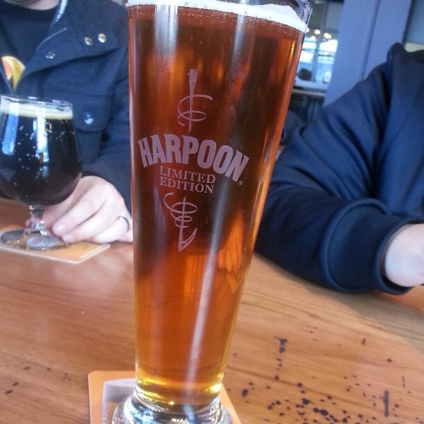 Harpoon Ale vía @alexnationpr en Instagram