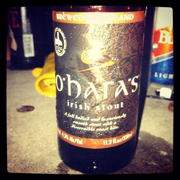 Oharas Irish Stout vía @Giux13 en Instagram
