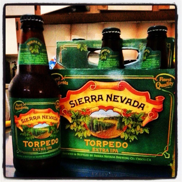 Sierra Nevada Torpedo Extra IPA vía @bierontap en Instagram