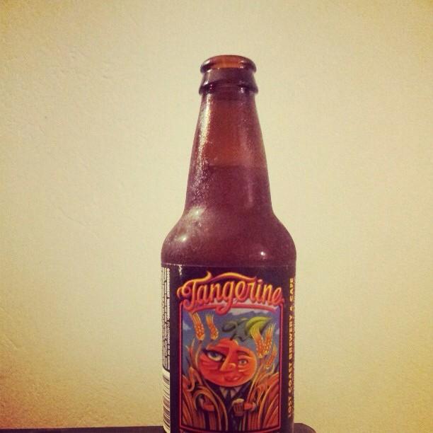 Tangerine Wheat Beer vía @aacruz787 en Instagram