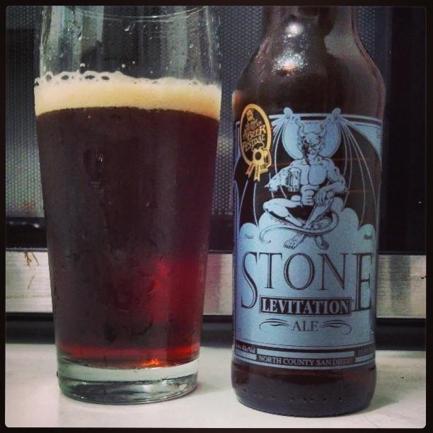Levitation Ale de Stone Brewing vía @adejesus80 en Instagram